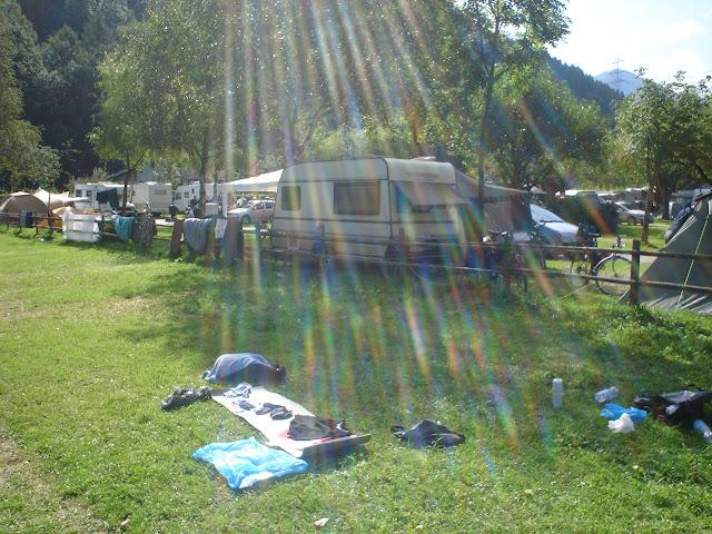 Nocleg - camping za jedyne 14E ...