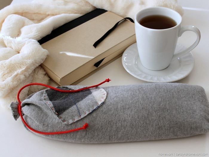 Upcycled Sweater to Heating Pad via homework - carolynshomework (6)[12]