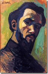 Andre-Lhote-Self-Portrait