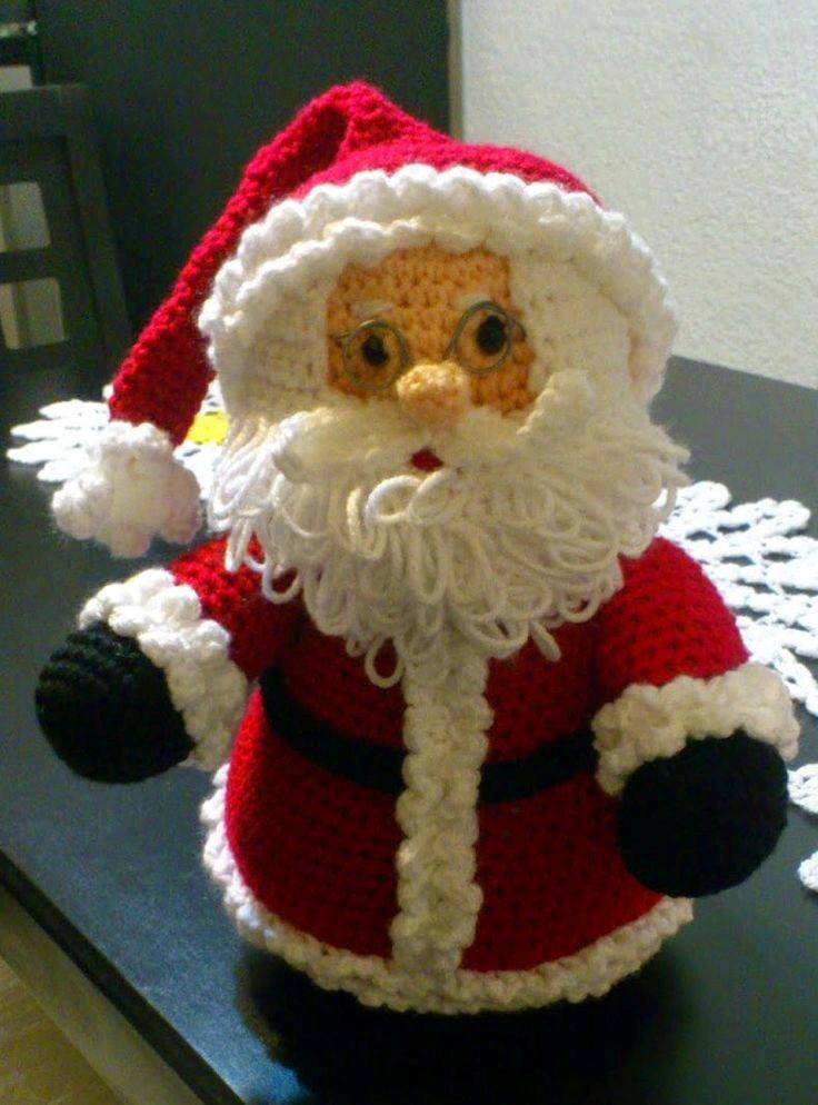 Amigurumi Patron De Elsa : Patron amigurumi de Papa Noel