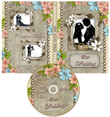 Gorgious DVD Cover Template 1