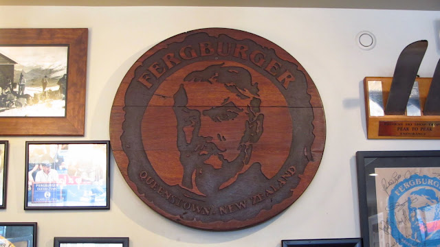 The world famous Fergburger hamburger restaurant.