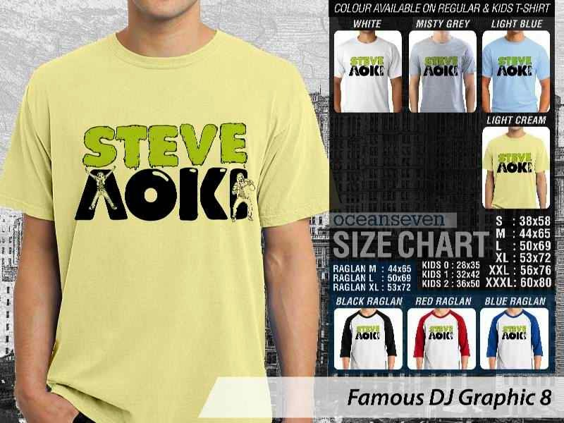 KAOS Musik DJ 8 Steve Aoki distro ocean seven