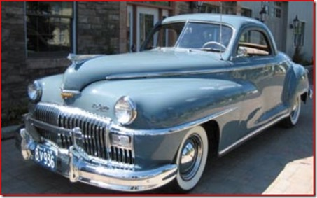1948 Desota business coupe