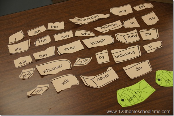 bible verse game for kids