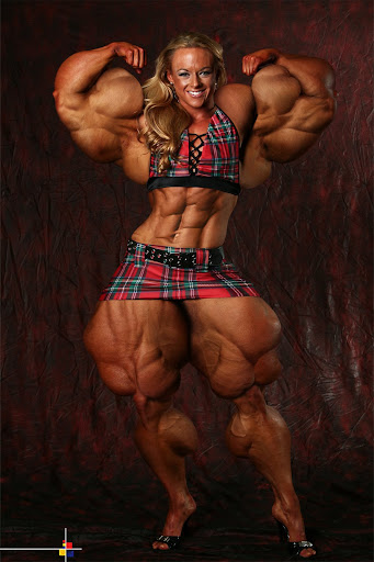 Experimental overdose! areaorion.blogspot.com Female Bodybuilder Muscle Morph