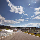 Main straight of the Red Bull Ring