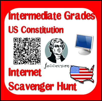 How much student choice do students have in your classroom? This blog post will explain how to give students choices while still exposing them to new topics. Opinions by Heidi Raki of Raki's Rad Resources. - American Constitution Internet Scavenger Hunt