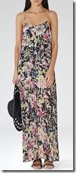 Reiss floral maxi dress