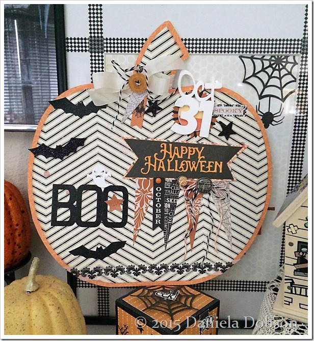 Paper pumpkin by Daniela Dobson