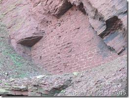 Mysteriöse Mauer Helgoland