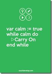 Calm TD