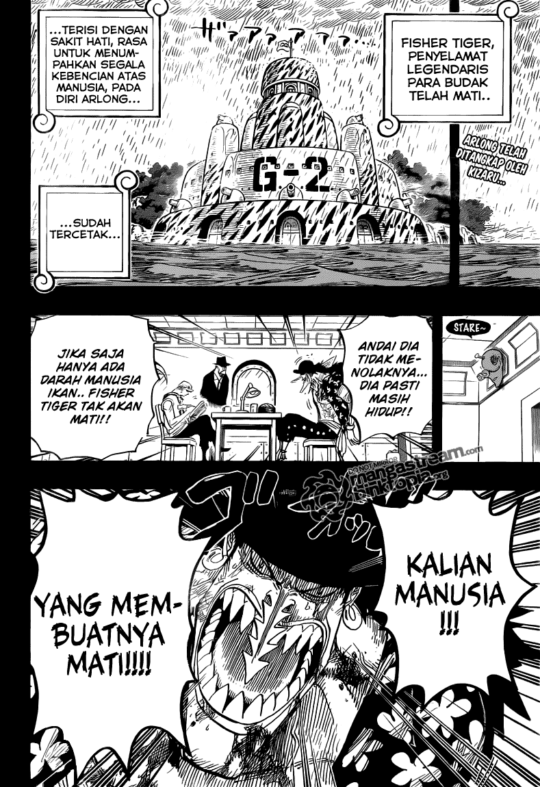 Page03 One Piece 624   Ratu Otohime