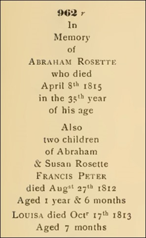 ROSETTE_Abraham_inscription of his headstone