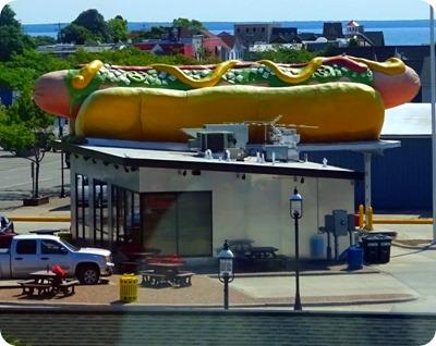 largest hot dog
