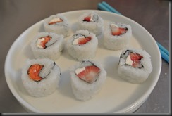Cheryl's Fruit Sushi