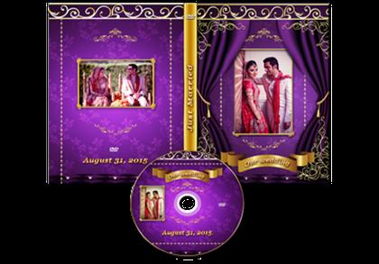 wild violet dvd case template 1