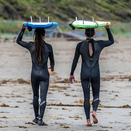 Going Home by Darren Sutherland - Sports & Fitness Surfing