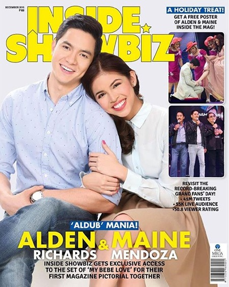 AlDub for Inside Showbiz December 2015