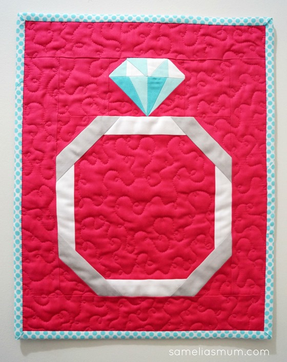 A Brilliant Cut Mini Quilt