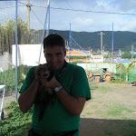 Emilio con el hurón