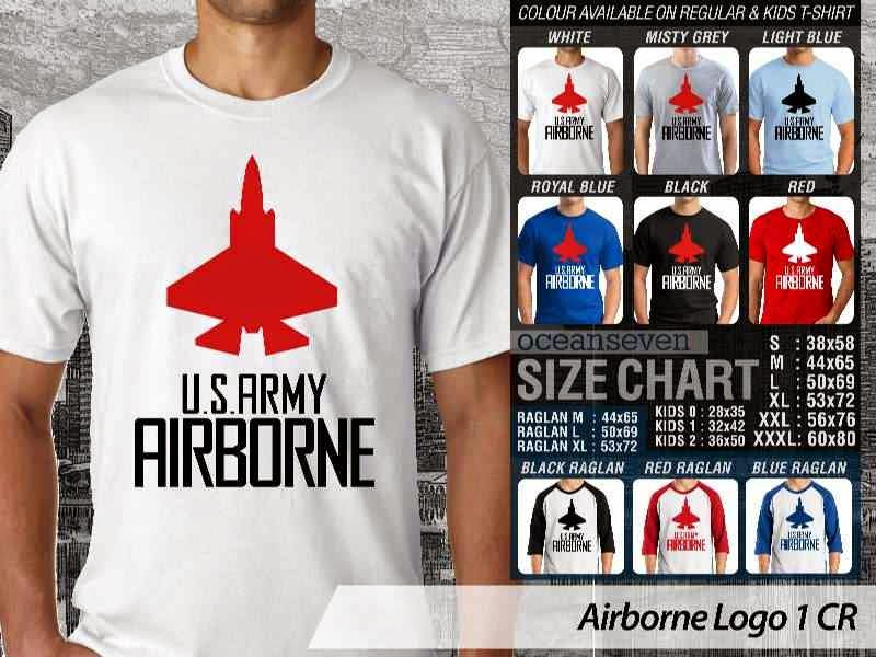 KAOS Militer Airborne Logo 1 distro ocean seven