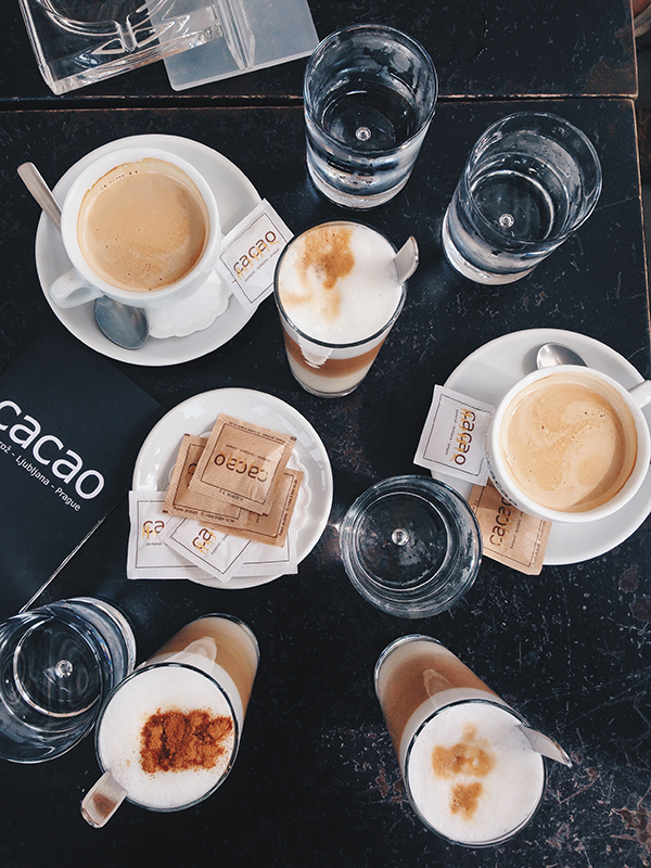 cacao coffee drinks dainte spela