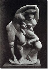 Alexander_Archipenko,_La_Vie_Familiale,_Family_Life,_1912