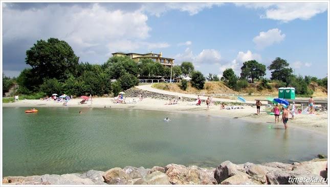 Пляж у отеля Липите. Ахелой. Болгария.