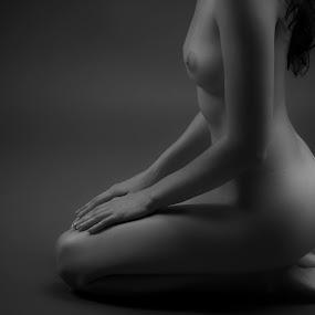 lines by Diana Garbacauskiene - Nudes & Boudoir Artistic Nude ( nude, mature, body lines, profile )