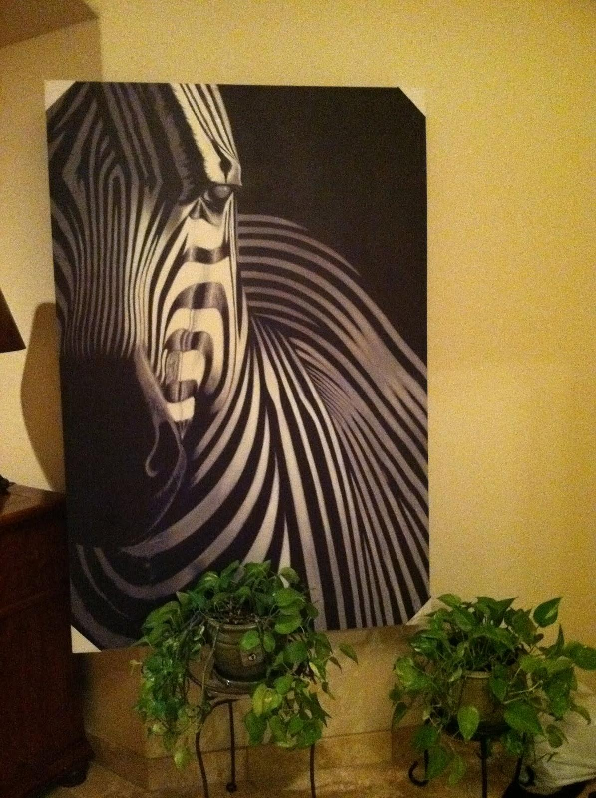 black and white zebra wedding decoration. 59 apache tshirts by