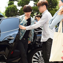 Big Bang - KBS Happy Together - 16may2015 - Arriving - Dae Sung - Newsen - 01.jpg
