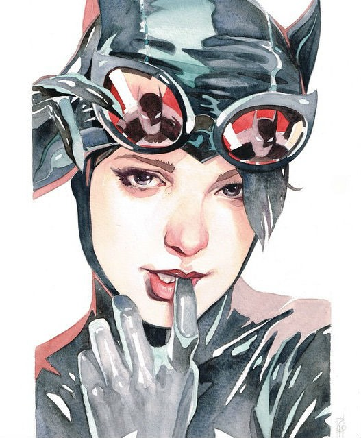 The Encounters Series - Catwoman by Garrie Gastonny and Elfandiary