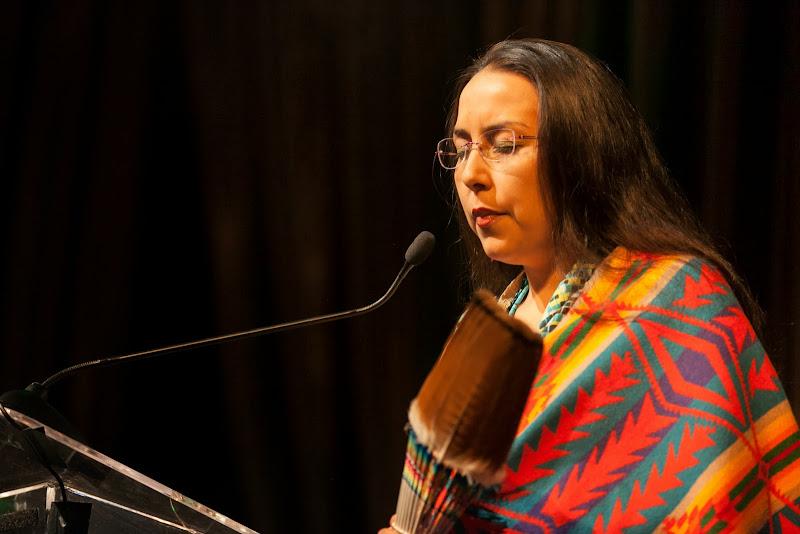 Ana Maria Mahiri, Amazon Watch Board Member. September 25, 2013; San Francisco, CA, USA; Photo by Eric Slomanson / slomophotos.com