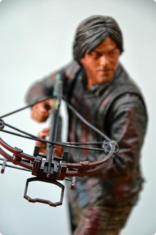 #twd (06) The Walking Dead McFarlane Action Figure Deluxe Daryl Dixon