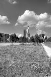 Westpark, Blick nach Norden