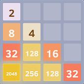 Classic 2048 puzzle game