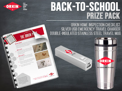 @AskTheOrkinMan Household Pests 101+ A Back to School Pack For You! #LearnWithOrkin