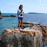 Flowerpot Island in Tobermory, Ontario, Canada