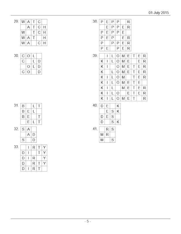 hidden letter