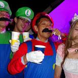 2 Luigis and 1 Mario lol in Tokyo, Tokyo, Japan