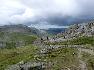 Great Gable and Green Gable come into view
