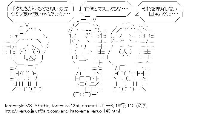[AA]鳩山やる夫