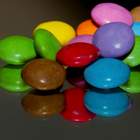 Spill the Beans by Stuart Wilson - Food & Drink Candy & Dessert ( smarties sweets )