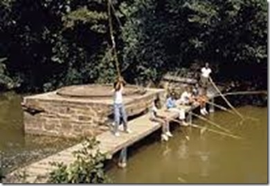 Afro_american_kids_fishing_from_wooden_bridge