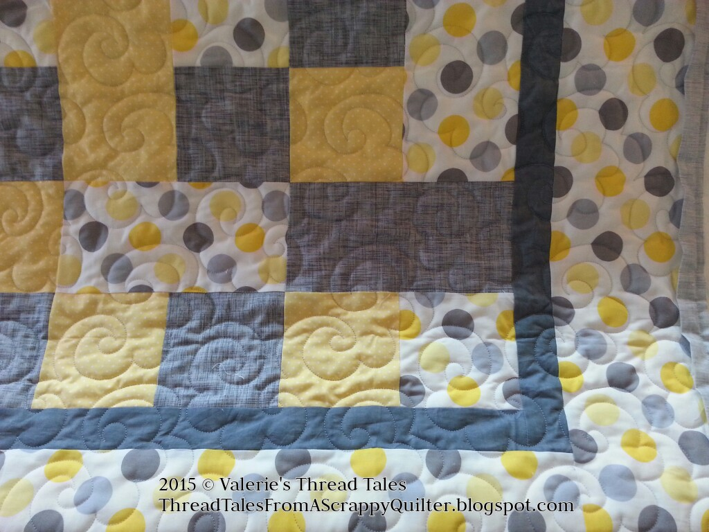 Sweet Gray and Yellow Baby Quilts : yellow and gray quilt - Adamdwight.com