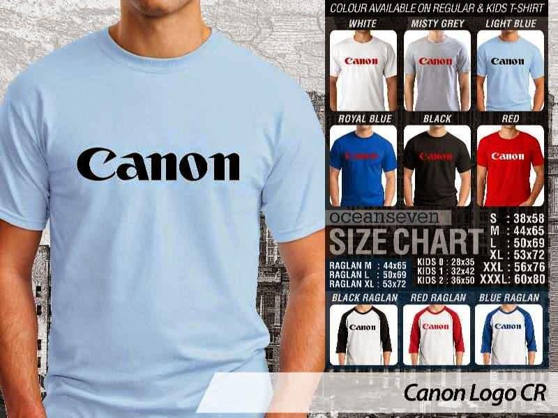 Kaos Photography Mania Canon Logo distro ocean seven