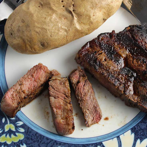 Grilled Ribeye with Simple Spice Rub