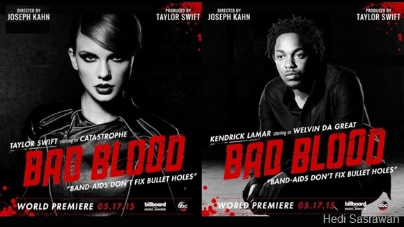 Makna dan Terjemahan Lirik Lagu Bad Blood (Taylor Swift Feat. Kendrick Lamar)