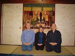 Z Hyakutenem - nauczycielem Reiki wKioto.